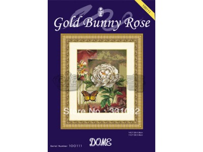 Gold bunny Rose