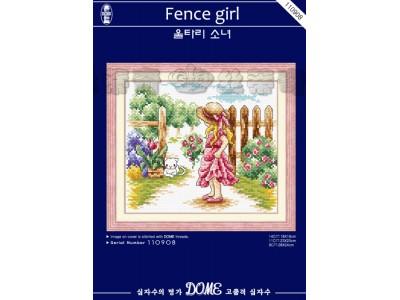 Fence girl