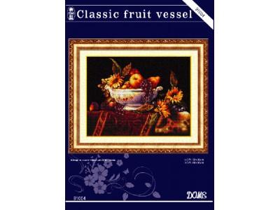 Classic fruit vessel