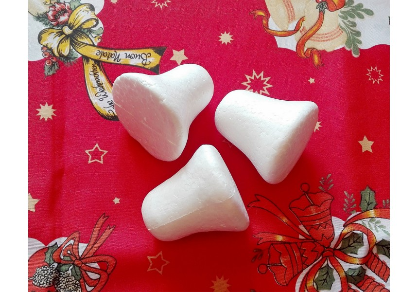 Камбанки от стирофом - 6,5 см