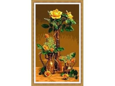 Рози  в ориенталска ваза
