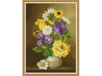 Букет летни цветя