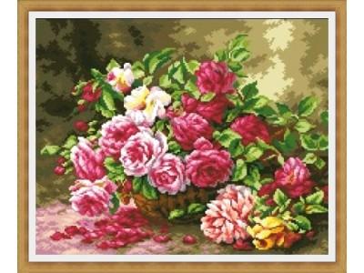 Кошница с летни рози