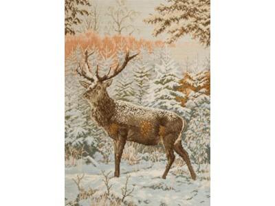Елен в снега