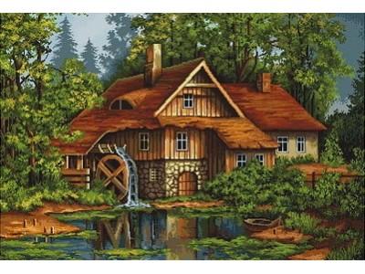 Мелница в гората