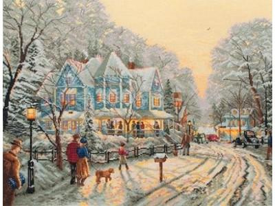 Зимна улица