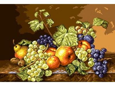 Натюрморт есенни плодове