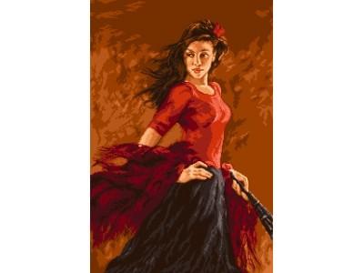 Танцьорката на фламенко