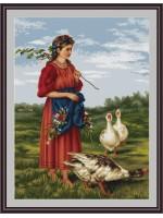 Момичето с гъските