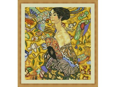 Жена с ветрило - Г. Климт