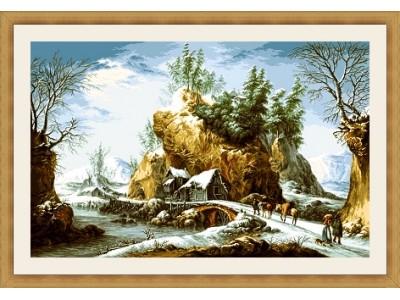 Зима в Апенините