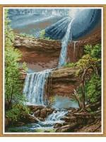 Планински водопад 1
