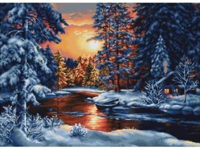 Зимен залез