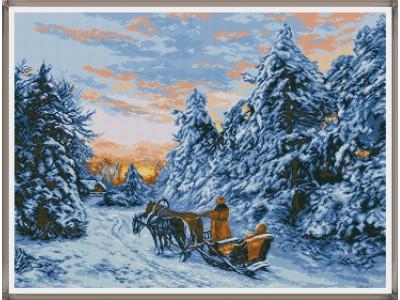 Зима в Кавказ