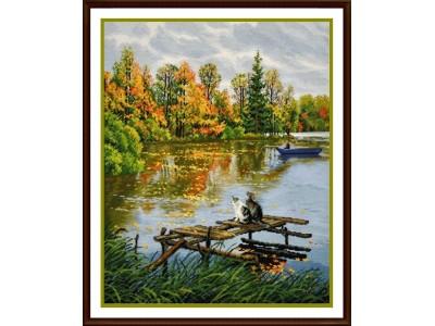 Есен на езерото