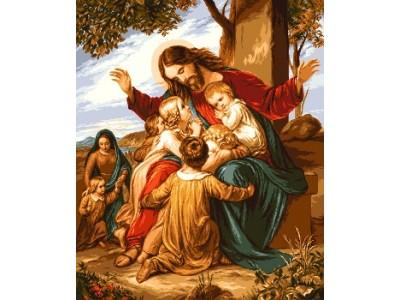 Иисус сред децата