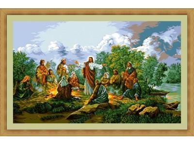 Иисус с апостолите