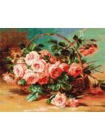 Кошница с рози 2