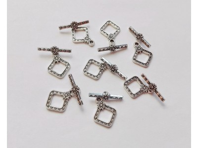 1036 Метална основа за пръстен 1 бр.