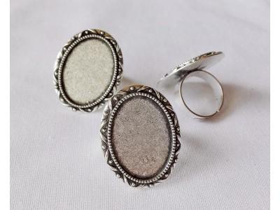1219 Метална основа за пръстен 1 бр.