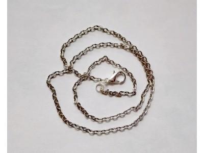 1290 Синджир - антично сребро, 2 мм 1 бр.