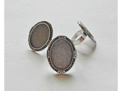 1351 Метална основа за пръстен 1 бр.