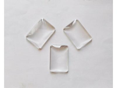 1372 Кабошон стъкло - 23 х 33 мм 1 бр.