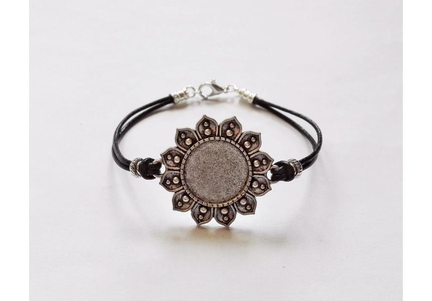1386 Метална основа за пръстен 1 бр.