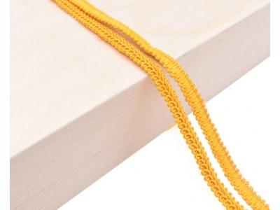 Декоративен ширит - цвят жълто