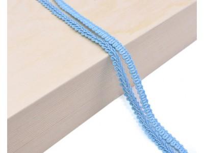 Декоративен ширит - цвят светло синьо