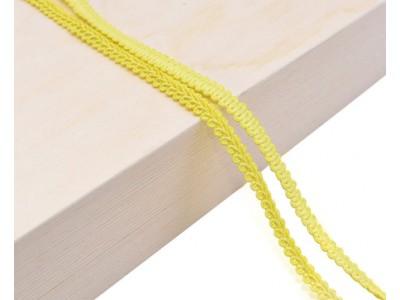 Декоративен ширит - цвят жълто-зелено