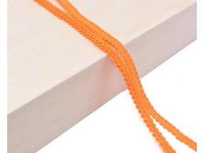 Декоративен ширит - цвят оранжево