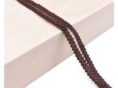 Декоративен ширит - цвят кафяво