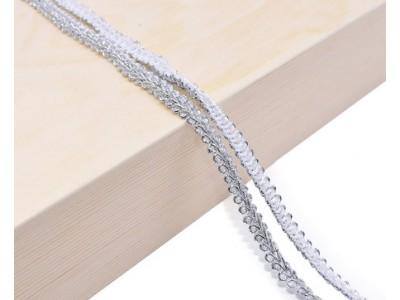 Декоративен ширит - цвят сребро