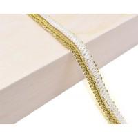 Декоративен ширит - цвят злато