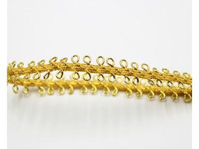 Декоративен ширит - цвят злато 3