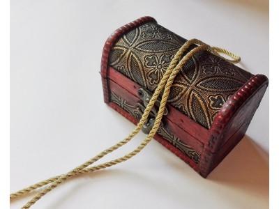 Декоративен шнур - цвят злато