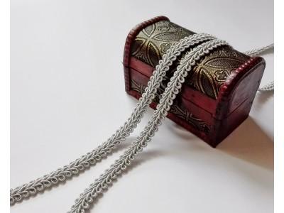 Декоративен ширит - цвят светло сиво