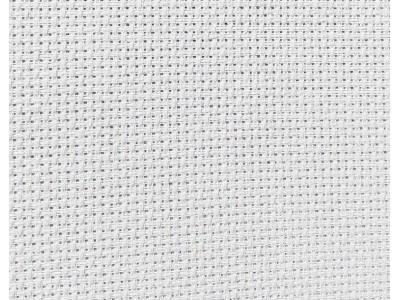 AIDA 14 count, бяла, DMC