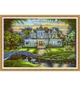 Гоблени Пейзажи с къщи